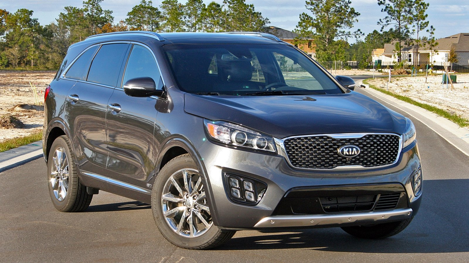 2017 kia sorento sxl driven review top speed. Black Bedroom Furniture Sets. Home Design Ideas