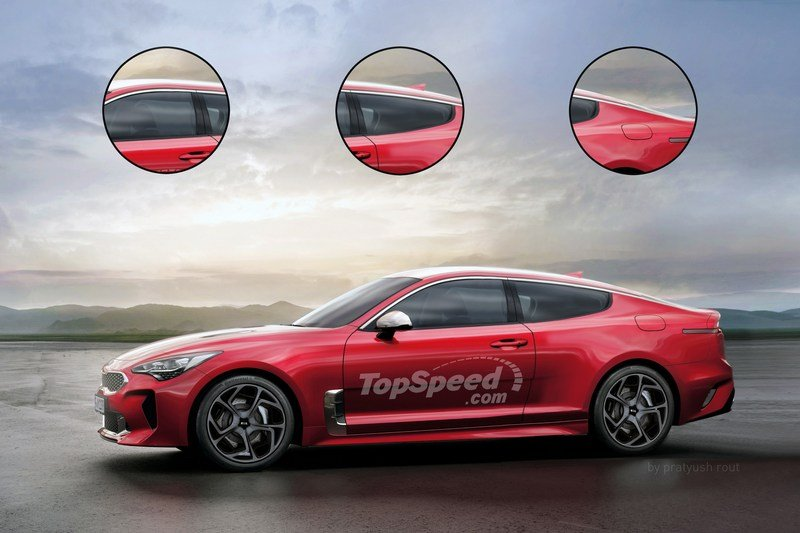 2020 Kia Stinger Coupe Exterior Exclusive Renderings Computer Renderings and Photoshop - image 702822