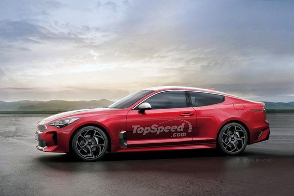 2020 Kia Stinger Coupe | car review @ Top Speed