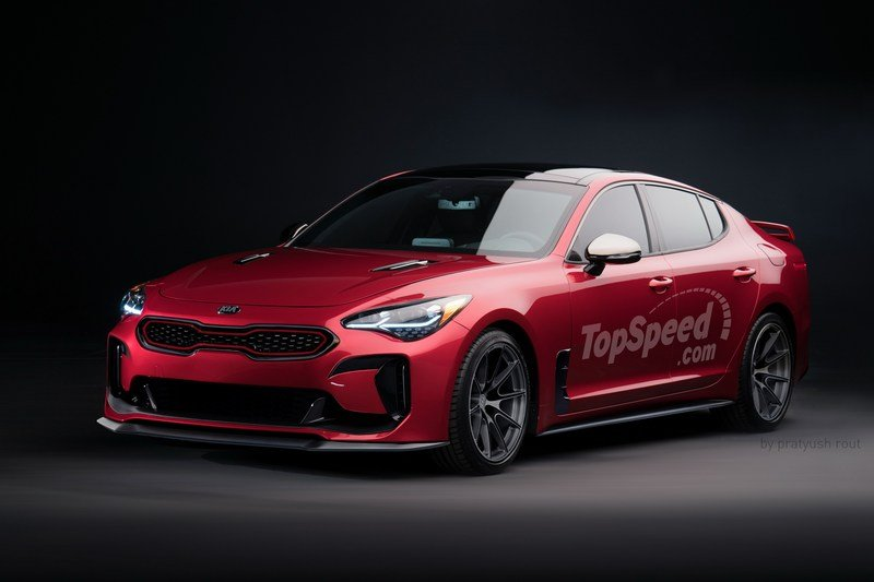 2019 Kia Stinger GT Plus Exterior Exclusive Renderings Computer Renderings and Photoshop - image 702823