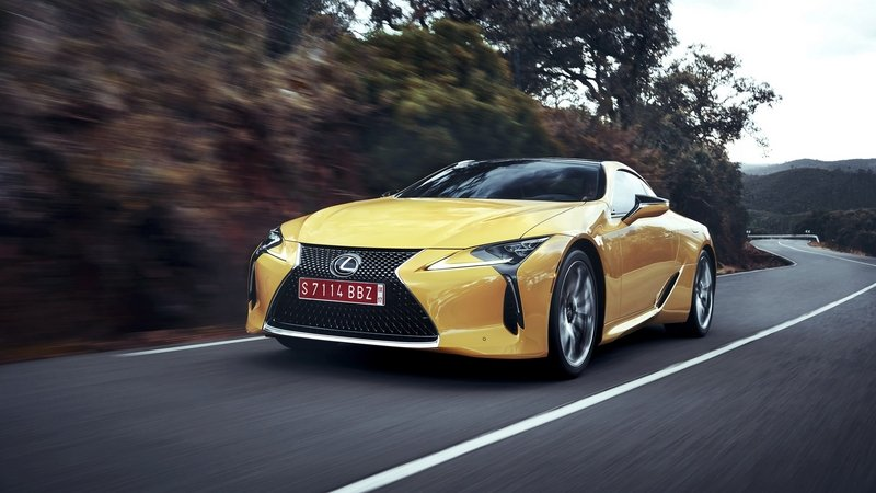 Load Your Lexus LC 500 Up On Packages And You're Looking At A Six-Figure Price Tag