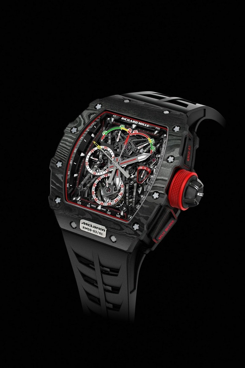 McLaren and Richard Mille Want To Sell You A Watch That Costs As Much As The P1 Hypercar