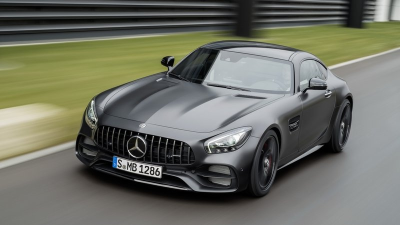 2018 Mercedes-AMG GT C Coupe High Resolution Exterior - image 700795