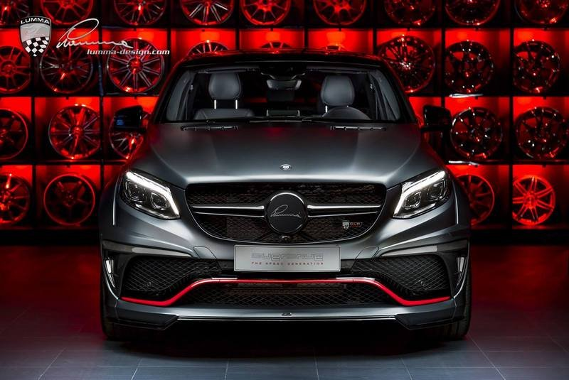 2017 Mercedes GLE Coupe CLR G800 By Lumma Design