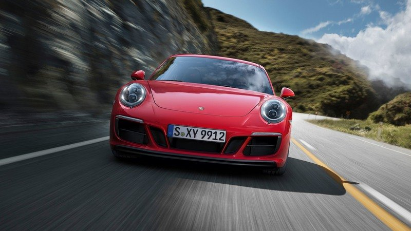 New Porsche 911 GTS Now Has Turbochargers, Gets More Power High Resolution Exterior - image 700442