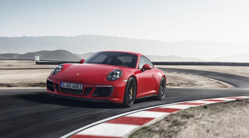 New Porsche 911 GTS Now Has Turbochargers, Gets More Power High Resolution Exterior - image 700417
