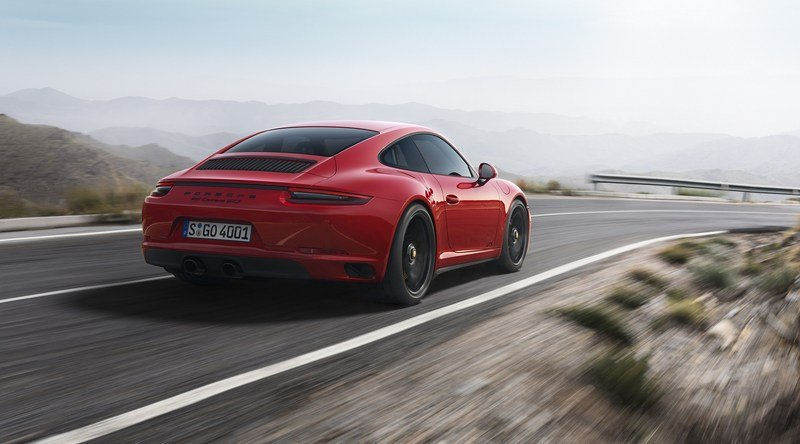 New Porsche 911 GTS Now Has Turbochargers, Gets More Power High Resolution Exterior - image 700418