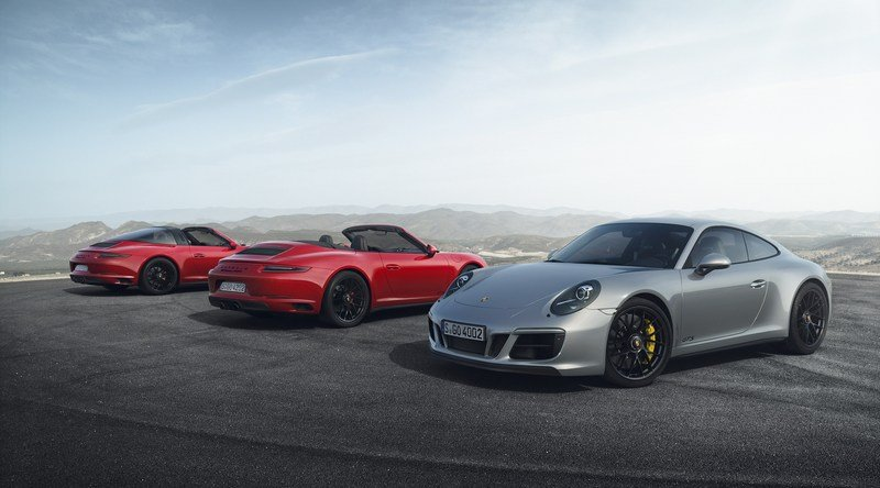 New Porsche 911 GTS Now Has Turbochargers, Gets More Power High Resolution Exterior - image 700416