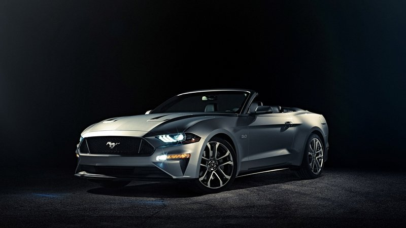 New Technology, Attractive Looks, and Energetic Power to Keep Mustang Convertible Competitive Through 2020