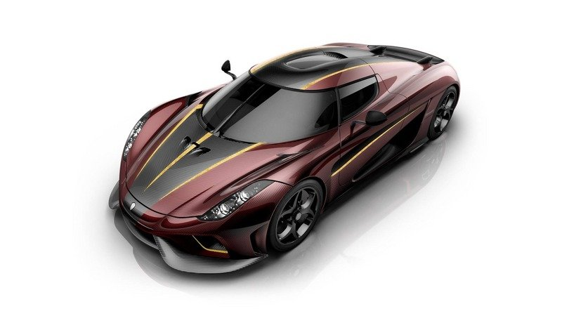 Our Hearts Are Bleeding For This Bordeaux Koenigsegg Regera
