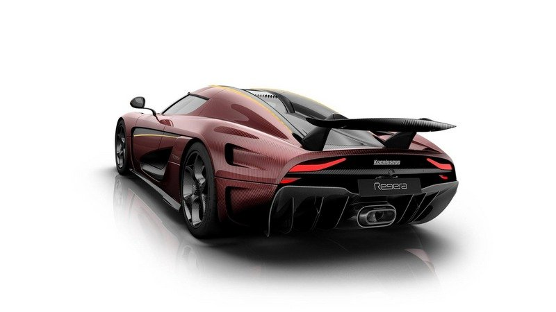 Our Hearts Are Bleeding For This Bordeaux Koenigsegg Regera High Resolution Exterior - image 703490