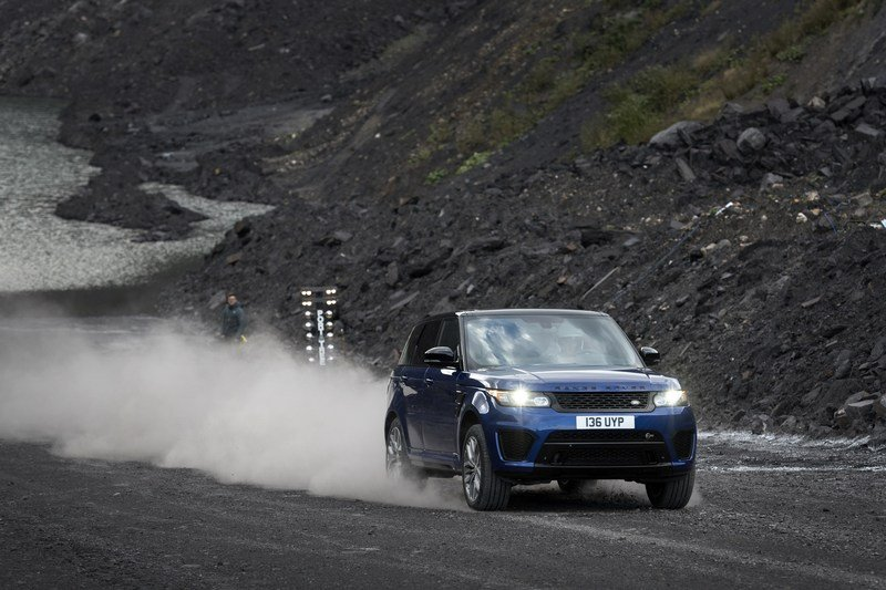 Range Rover Sport SVR Testes 0-to-62 MPH on Six Surfaces! High Resolution Exterior - image 703023