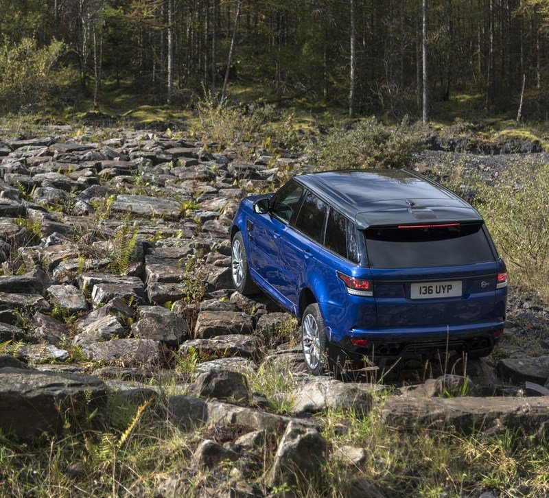 Range Rover Sport SVR Testes 0-to-62 MPH on Six Surfaces! High Resolution Exterior - image 703030