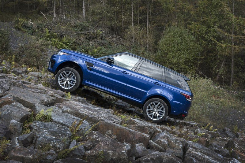 Range Rover Sport SVR Testes 0-to-62 MPH on Six Surfaces! High Resolution Exterior - image 703031