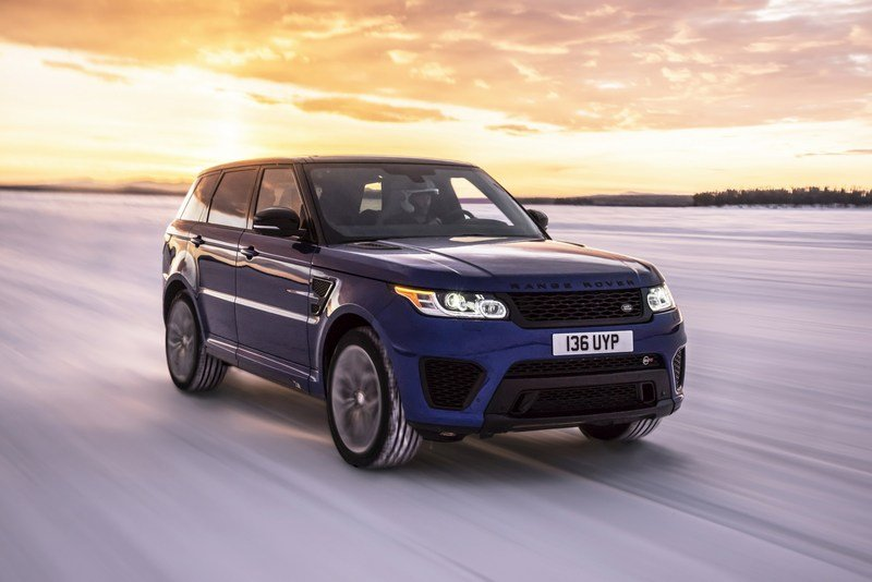 Range Rover Sport SVR Testes 0-to-62 MPH on Six Surfaces! High Resolution Exterior - image 703035