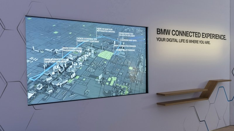 Stay BMW Connected at home with BMW's New Digital Window