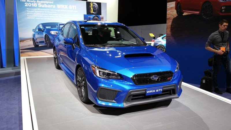 The Best Get Better As Upgrades Dominate Subaru WRX And STI Models High Resolution Exterior - image 700815