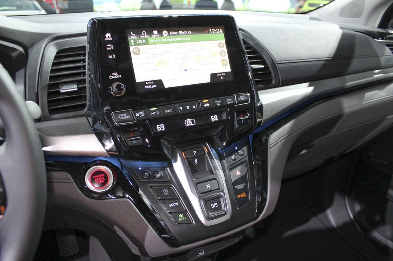 The New Honda Odyssey Stole the Show from Chevy in Detroit High Resolution Interior - image 701617
