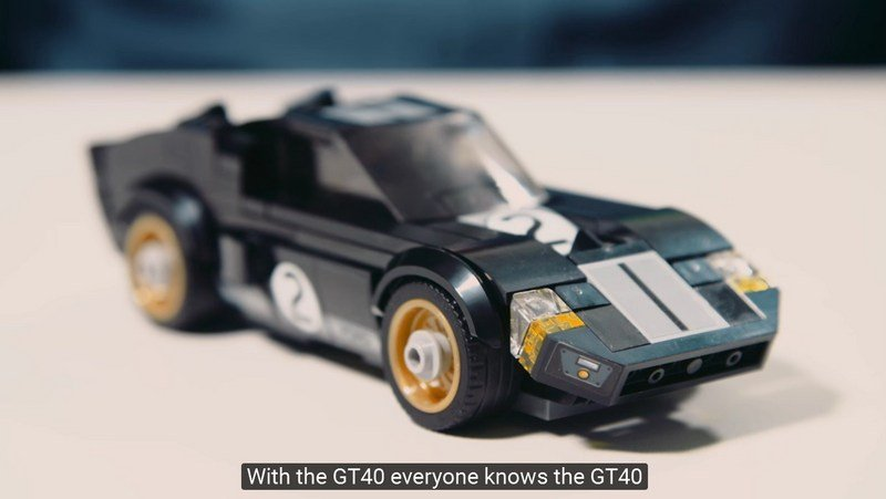 This Is How You Make A Tiny Ford GT40 Out Of Bricks