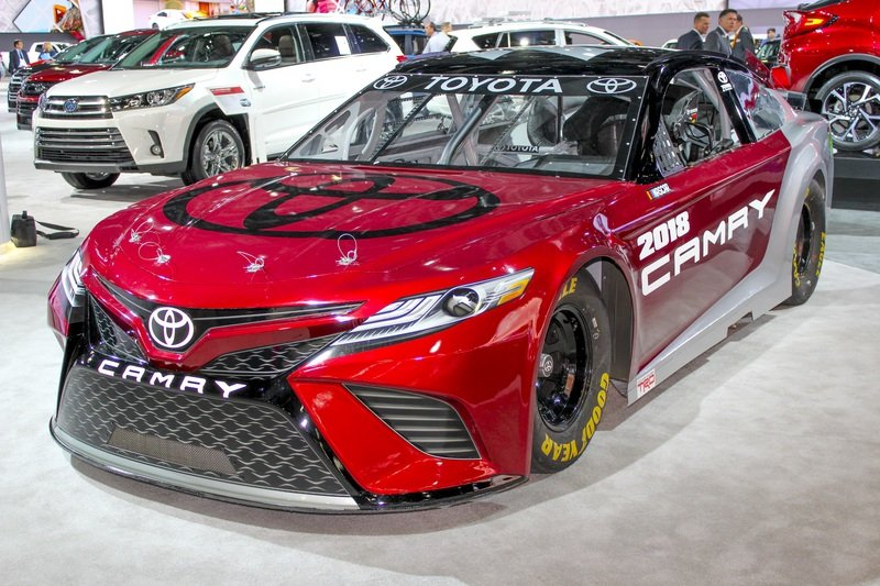 Toyota's Camry NASCAR Racer is Built in America