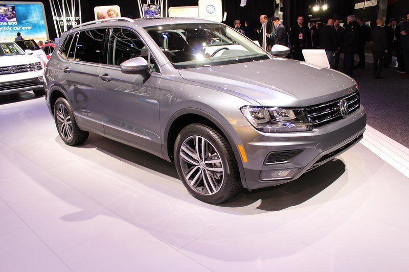 US Gets Longer Volkswagen Tiguan with Third-Row Seating Option