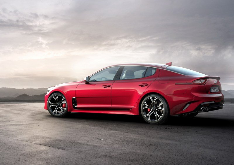 Wallpaper of the Day: 2018 Kia Stinger