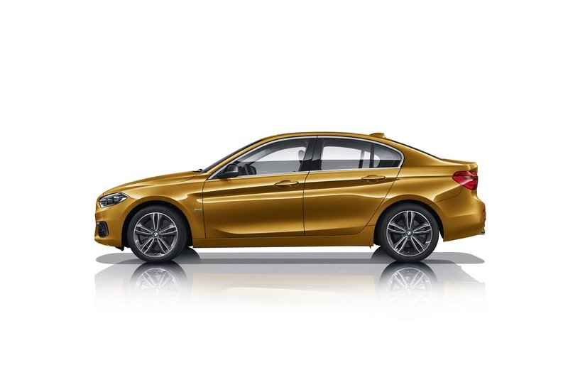 2017 BMW 1 Series Sedan High Resolution Exterior - image 706989