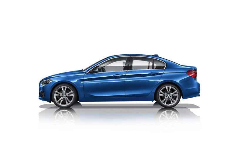 2017 BMW 1 Series Sedan High Resolution Exterior - image 706994