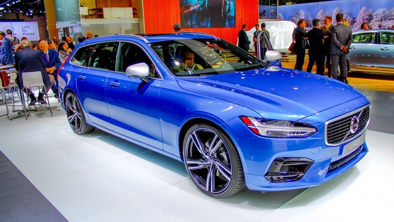 2017 Volvo V90 High Resolution Exterior AutoShow - image 704230