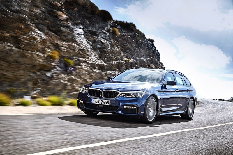 2018 BMW 5 Series Touring High Resolution Exterior - image 704031