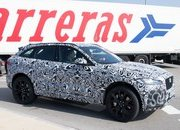 Jaguar is Set to Rattle the BMW X5 M and Porsche Cayenne S with the F-Pace SVR in New York - image 706405