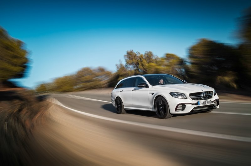 2018 Mercedes-AMG E 63 S Wagon Unveiled Because Fast Wagons Are Just Better