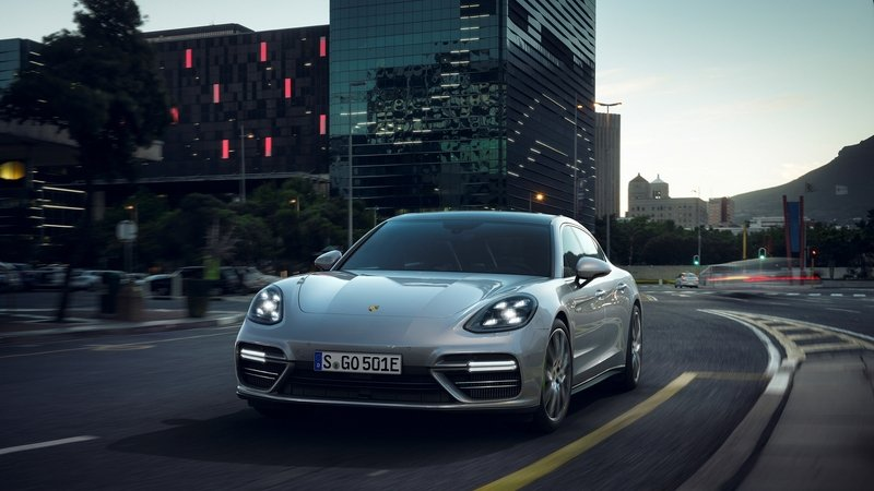2018 Porsche Panamera Turbo S E-Hybrid Unveiled High Resolution Exterior - image 706653