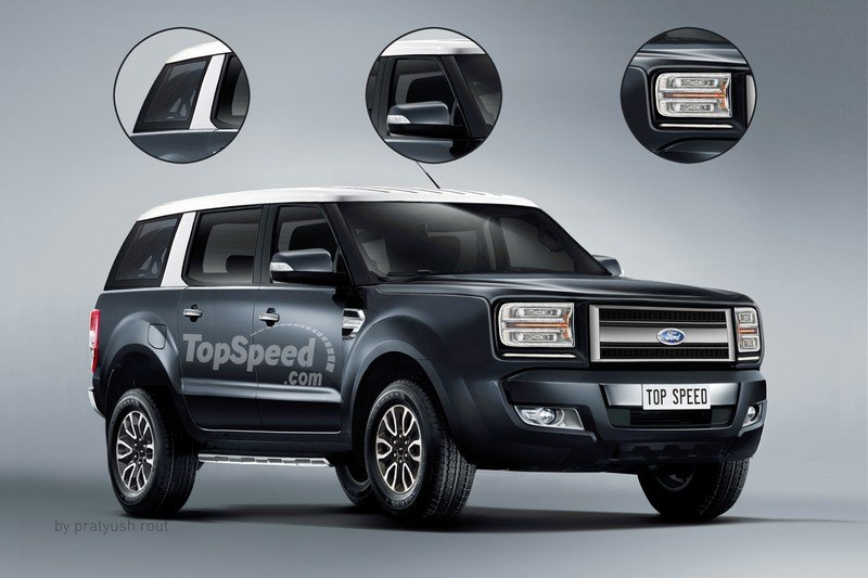 2020 Ford Bronco Exterior Exclusive Renderings Computer Renderings and Photoshop - image 705393