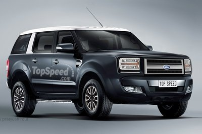 A Ford Everest Raptor is in the Works; Could Lead to a Bronco Raptor - image 705394