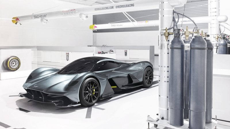 Aston Martin Picks An Odd Place To Unveil The AM-RB 001 Hypercar