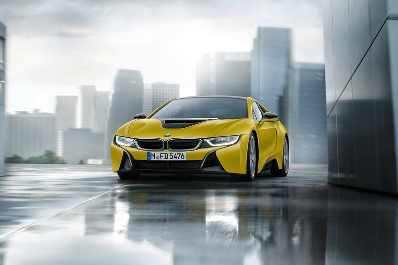 2017 bmw i8 protonic frozen yellow edition review top speed. Black Bedroom Furniture Sets. Home Design Ideas