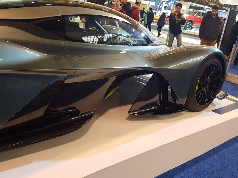 Aston Martin AM-RB 001 Makes Global Debut In Toronto... Sort Of