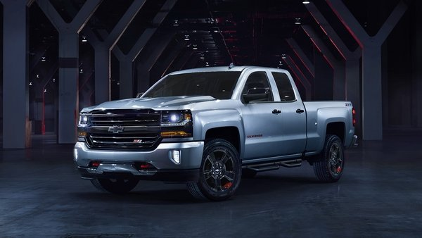 2017 chevrolet silverado redline edition review top speed. Black Bedroom Furniture Sets. Home Design Ideas