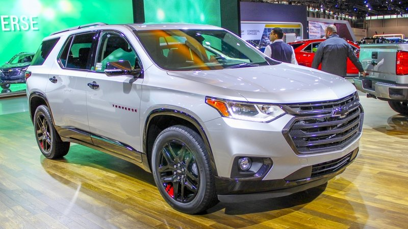 2017 Chevrolet Traverse Redline Edition