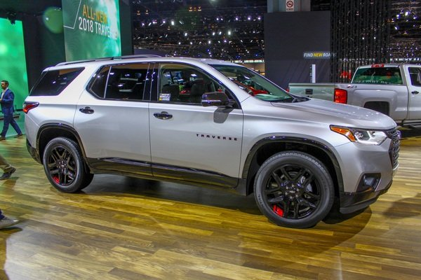 2017 Chevrolet Traverse Redline Edition - Picture 705334 | car review @ Top Speed