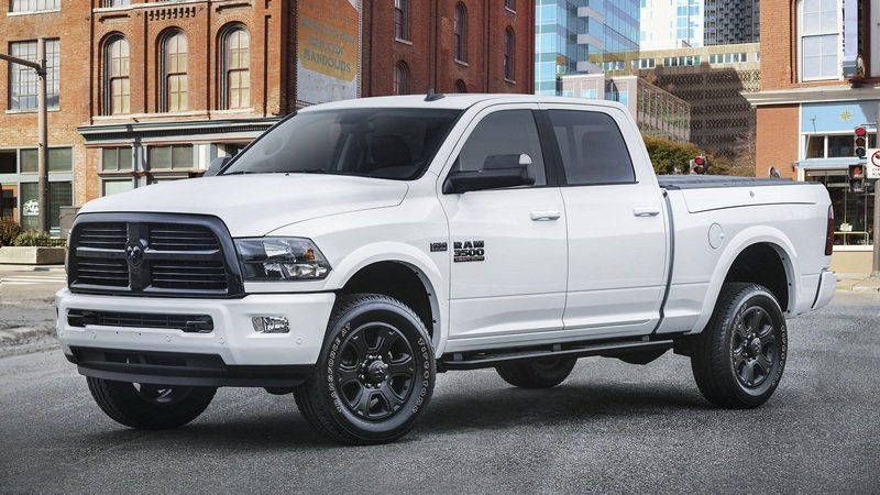 2017 Ram 2500 and 3500 Heavy Duty Night Package