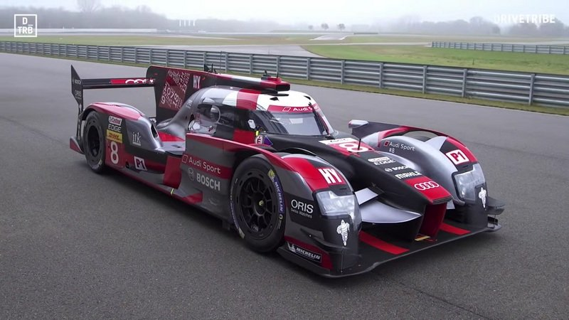 Drivetribe Takes A Spin In The Audi R18 LMP1: Video