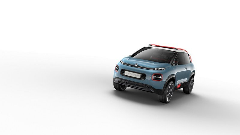 2017 Citroen C-Aircross Concept High Resolution Exterior - image 704597