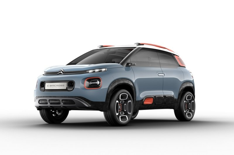 2017 Citroen C-Aircross Concept High Resolution Exterior - image 706062