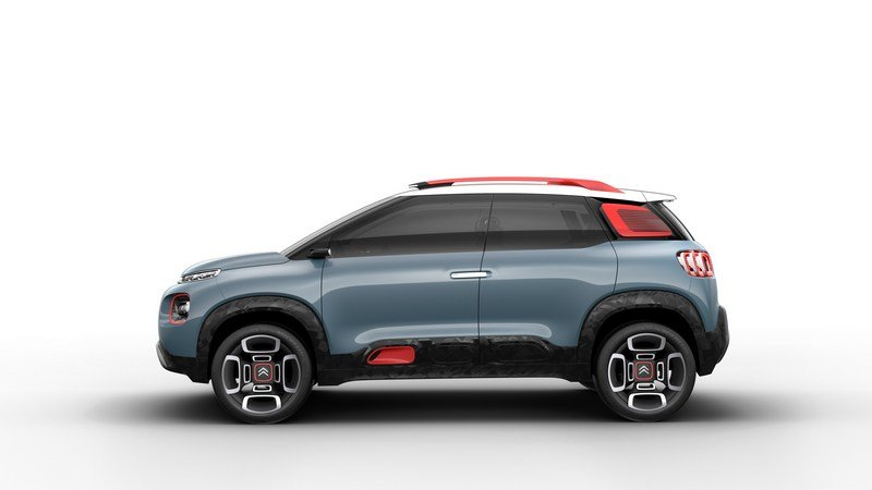 2017 Citroen C-Aircross Concept High Resolution Exterior - image 704589