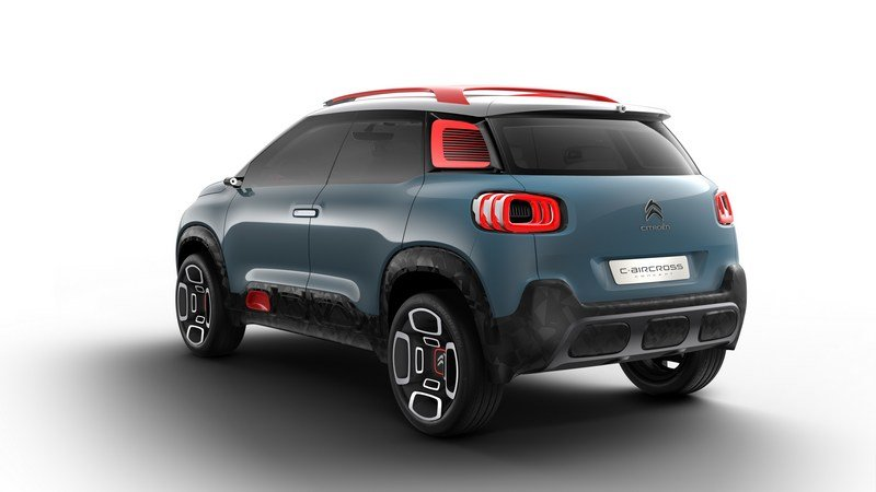 2017 Citroen C-Aircross Concept High Resolution Exterior - image 704591