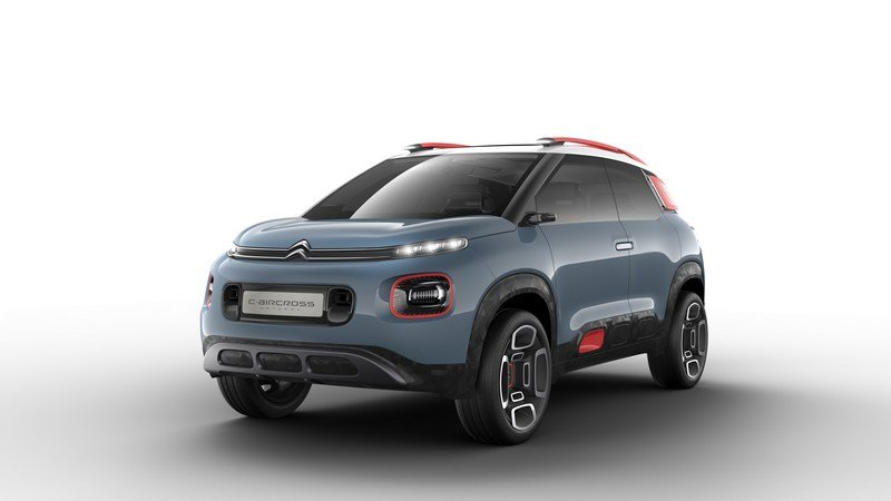 2017 Citroen C-Aircross Concept High Resolution Exterior - image 704588