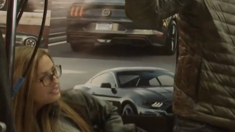 Is This a New Bullitt Mustang Lurking in one of the Rock's Latest Videos?