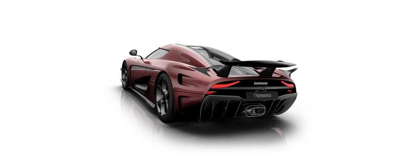 Koenigsegg Regera Gets Another Shot Of Red And Black